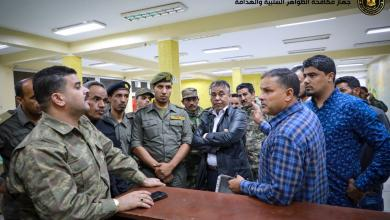 "Photo of ""مكافحة بنغازي"" يُسلّم هيئة الشباب مقراتها بعد عملية استرجاعها"