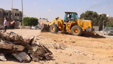 Photo of بلدية سرت تواصل حملة النظافة الواسعة بالمدينة