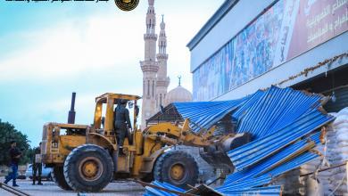 """Photo of بنغازي.. إزالة العشوائيات في """"حي الفاتح"""""""