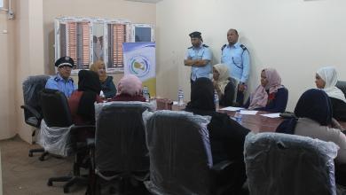 Photo of مكتب تنسيقية المرأة بمدينة سبها يعقد اجتماعه مع المنتسبات لجهاز الشرطة