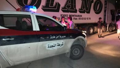 Photo of أمن طبرق يضبط شاحنة قادمة من منفذ امساعد البري دون إجراءات جمركية