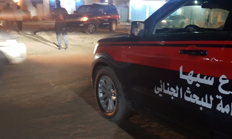 البحث الجنائي سبها يواصل نشر دورياته الأمنية داخل مناطق المدينة
