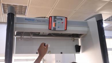 Photo of تركيب جهاز تفتيش آلي بصالة المغادرة في مطار طبرق الدولي