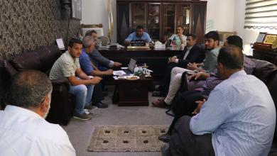 Photo of بعد غرق المدينة .. بلدي البيضاء يبحث مشروعات الصرف الصحي