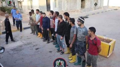 """صورة محلات """"رياشة"""" ترتكب كارثة صحية في بنغازي"""