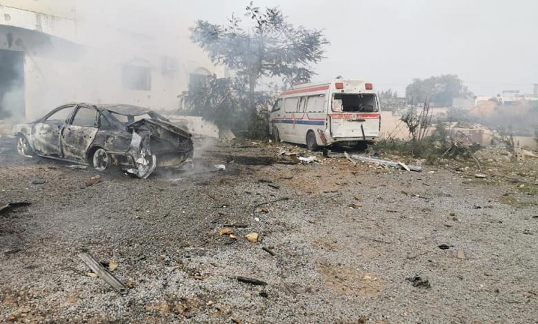 استهداف متكرر للمستشفيات الميدانية في طرابلس