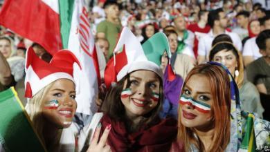 Photo of الإيرانيات بالمدرجات لأول مرة منذ 38 عاما