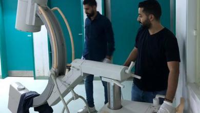Photo of مركز طبرق الطبي يستلم جهاز التصوير المقطعي من صحة المؤقتة