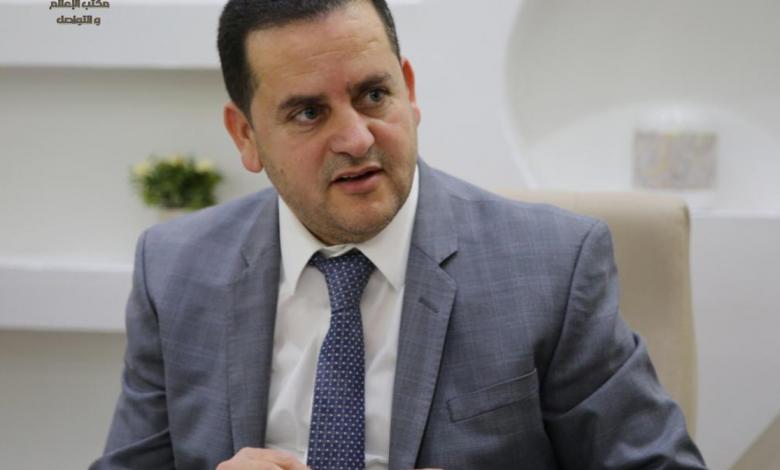 وزير الخارجية في الحكومة المؤقتة عبدالهادي الحويج- صورة إرشيفية