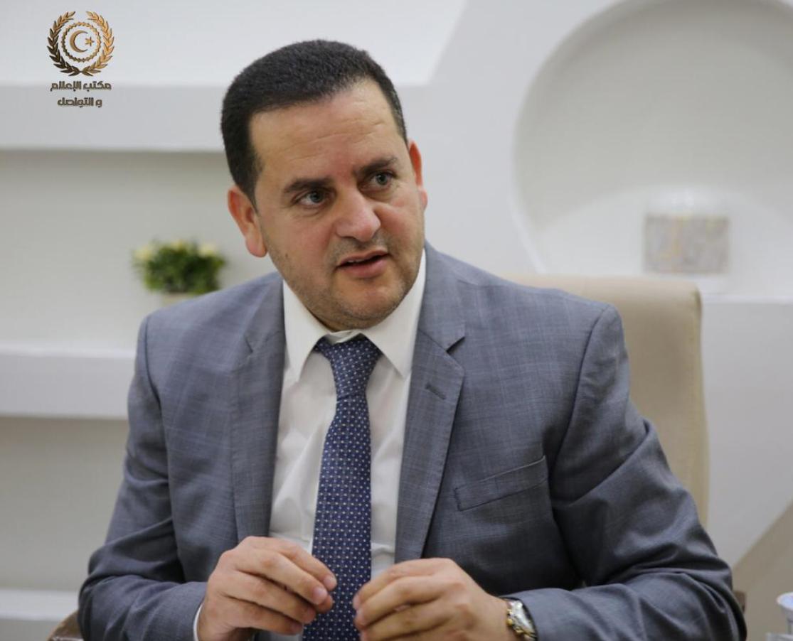 وزير الخارجية بالحكومة الليبية عبدالهادي الحويج