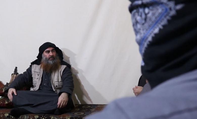 زعيم تنظيم داعش الإرهابي أبوبكر البغدادي