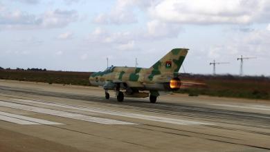 Photo of ضربات جوية مكثفة لسلاح الجو على مواقع معسكر الوفاق جنوب طرابلس