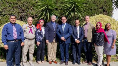 Photo of هاريس يلتقي فعاليات ليبية لدعم حماية الملكية الثقافية