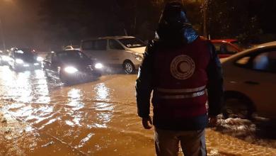 """Photo of السيول تسبب أول """"وجع ليبي"""".. أم الرزم """"تغرق"""""""