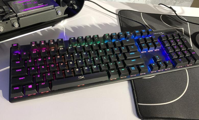 "Photo of جديد ""هايبر إكس"".. لوحة مفاتيح لعشاق الألعاب"