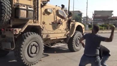 Photo of قوافل القوات الأميركية تغادر سوريا باتجاه العراق