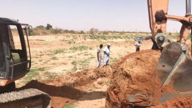 صورة تراغن..جهود حسب المتاح لمعالجة أزمة المياه