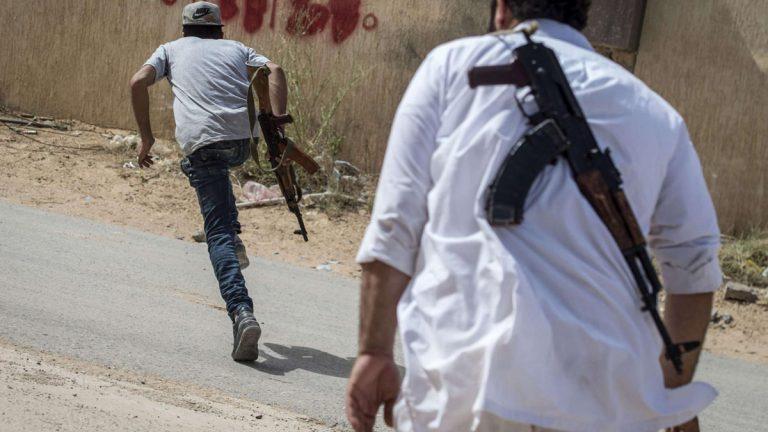 منظمة حقوقية تطالب حكومة الوفاق بمكافحة الجريمة المنظمة في طرابلس- صورة إرشيفية- طرابلس