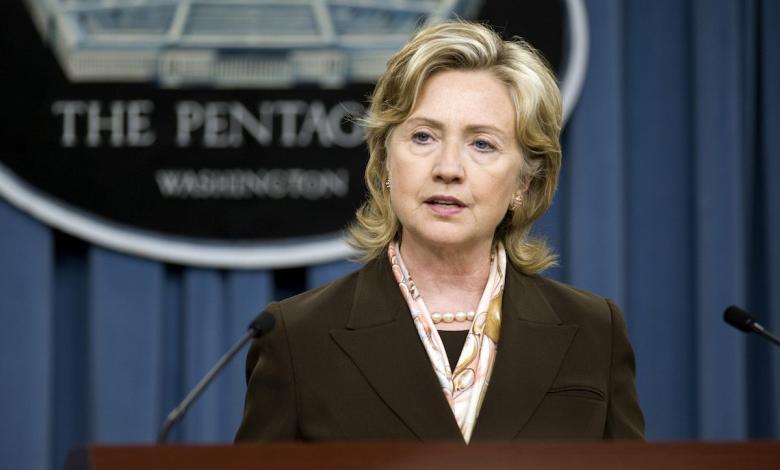وزيرة الخارجية الأميركية السابقة هيلاري كلينتون