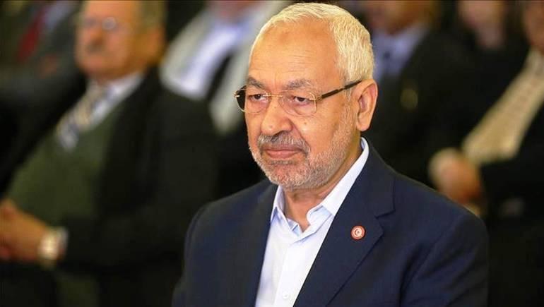صورة راشد الغنوشي يهنئ قيس سعيّد على فوزه في الانتخابات الرئاسية التونسية