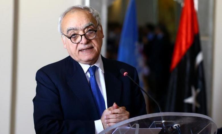 رئيس بعثة الأمم المتحدة للدعم في ليبيا غسان سلامة- صورة إرشيفية