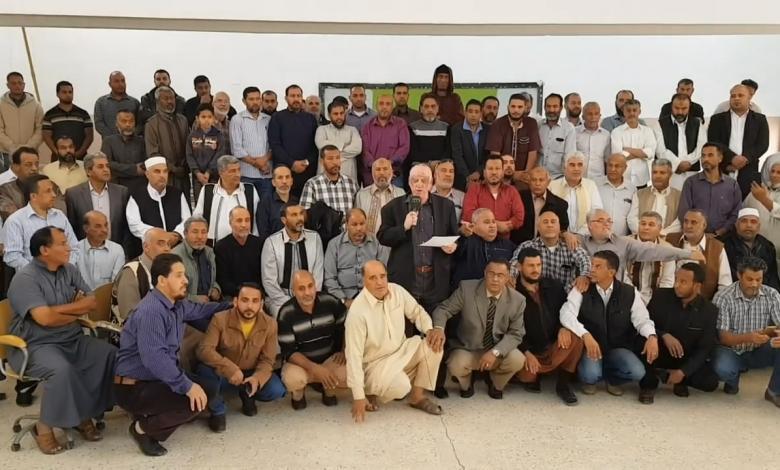 Photo of معلمو اجدابيا: مستمرون في اعتصامهم حتى تنفيذ المطالب