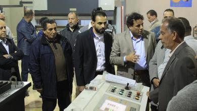 Photo of الراحلة تفتتح مصنعاً جديداً في بنغازي