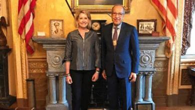 """Photo of """"الكبير"""" يبحث تعزيز التعاون الاقتصادي مع الولايات المتحدة"""