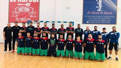 صورة المنتخب الوطني لكرة اليد ينهي معسكره في تونس