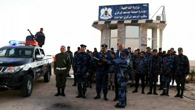 Photo of الدعم المركزي الواحات يفعل البوابة الشمالية لأوجلة