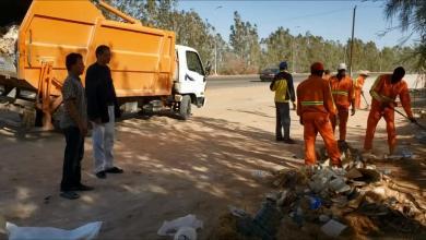 Photo of حملة نظافة واسعة في سمنو