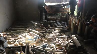 Photo of إتلاف مخلفات الجماعات الإرهابية في درنة