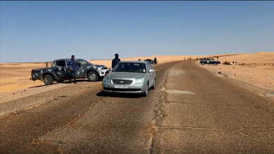 "Photo of دوريات لتأمين طريق ""البوانيس – الجفرة"""