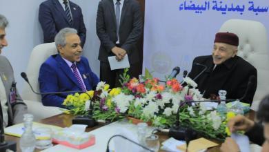 Photo of عقيلة صالح يتفقد أعمال ديوان المحاسبة