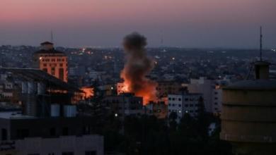 """صورة """"ضربة إسرائيلية مزدوجة"""" لـ""""الجهاد الإيراني"""" بدمشق وغزة"""