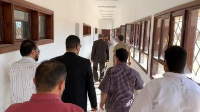 Photo of بلدي بني وليد يتابع سير التعليم بالمدينة