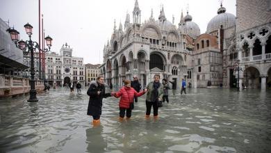 Photo of البندقية تعيش أسبوع فيضانات تاريخي