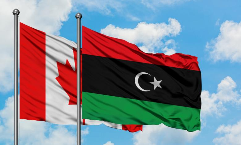 ليبيا - كندا