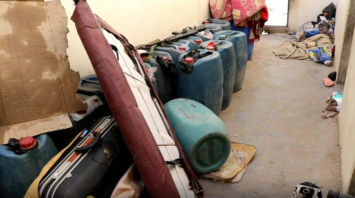 مداهمة وكر مخدرات وهجرة غير قانونية في جالو
