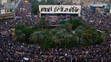 صورة الاحتجاجات بالعراق مستمرة وقتلى في الناصرية وبغداد