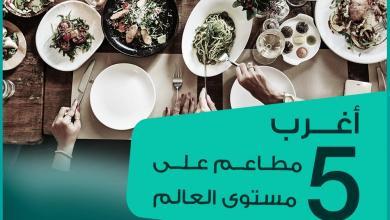 صورة أغرب 5 مطاعم على مستوى العالم