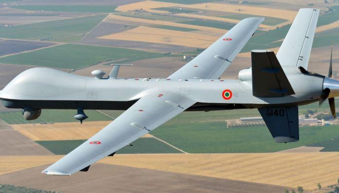 """سقوط طائرة ايطالية مسيرة في الأراضي الليبية - """"أرشيفية"""""""