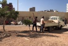 Photo of شبان من طبرق، يؤهلون حديقة مُهمَلة