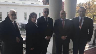 """صورة """"باشاغا"""" و """"سيالة"""" يبحثان خطة تعاون أمني مع الولايات المتحدة"""