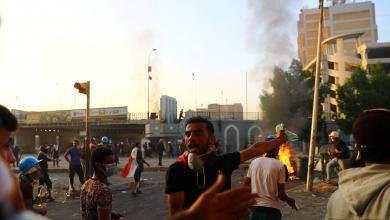 Photo of العراق: الأمن يفرق جموع المحتجين ووعود بإجراءات حكومية جديدة