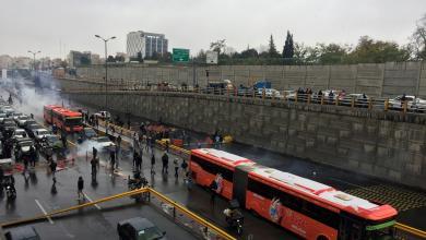 """Photo of """"انتفاضة البنزين"""" تشتعل في إيران.. وحصيلة القتلى ترتفع"""