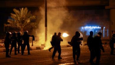 صورة مجزرة بالعراق ضحيتها 30 محتجاً في الناصرية