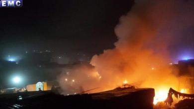 Photo of أكثر من 15 قتيلا في قصف على مخيم بسوريا