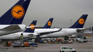 """صورة شركة """"لوفتهانزا"""" الألمانية للطيران تلغي 1300 رحلة بسبب الإضراب"""