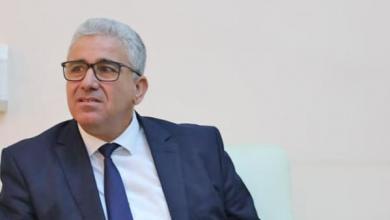 """صورة باشاغا والسفير الإيطالي يبحثان """"ملف طرابلس"""""""